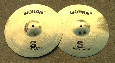 "WUHAN ""S-Series"" 14"" Hi-Hat Pair"