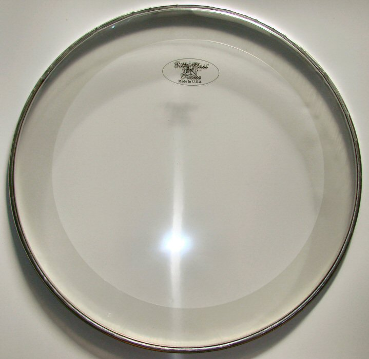 "20"" Sound Controlled Bass Drum Head"