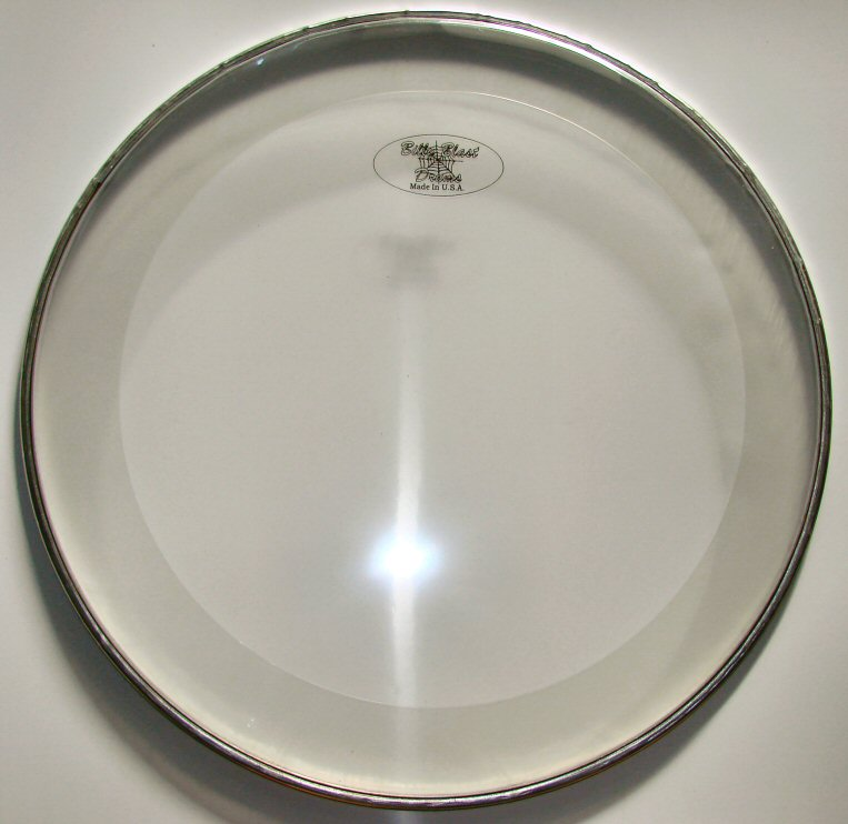 "22"" Sound Controlled Bass Drum Head"