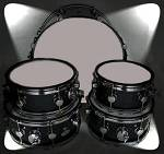 "Blastech Drums with 18"" Bass Drum"