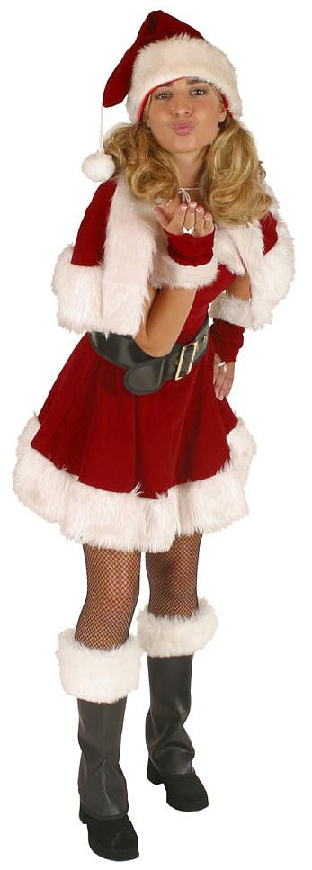 Santa Girl Winter