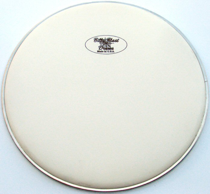 "14"" White Coated Snare Batter Head"