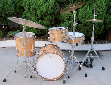 "18"" Natural Mini Drum Set"