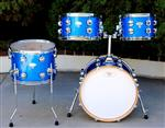 Blue Sparkle Mini Drum Kit