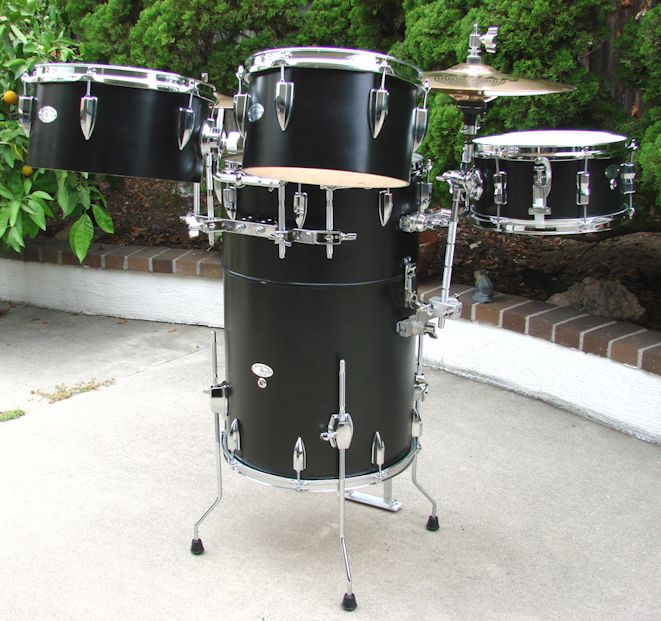 Black Lacquer Happy Hour Drums