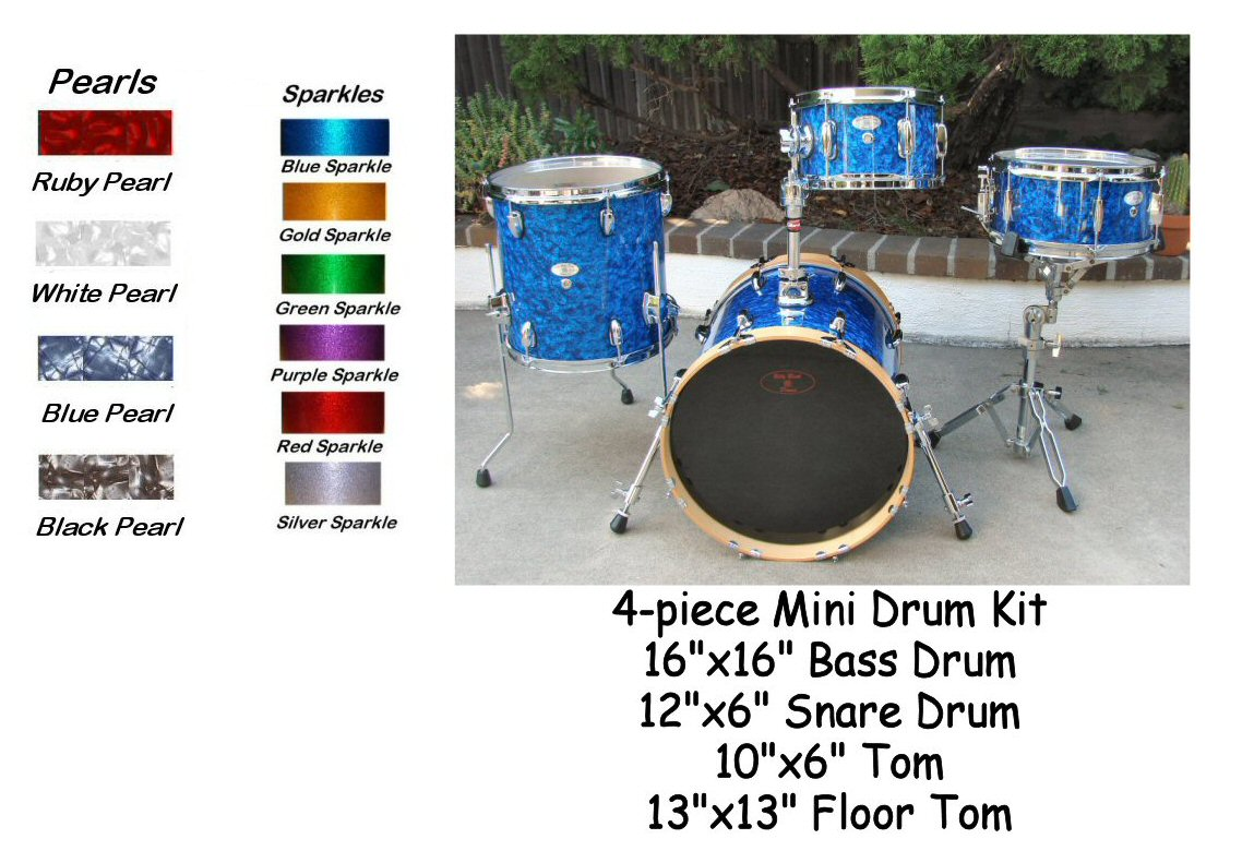 Mini Drum Kit Drums