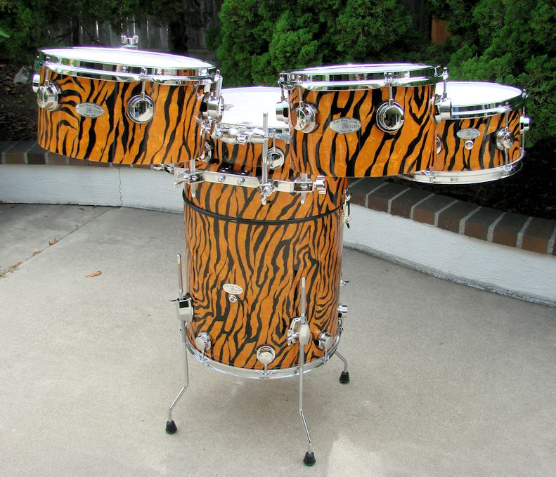 Jungle Cat Happy Hour Drums