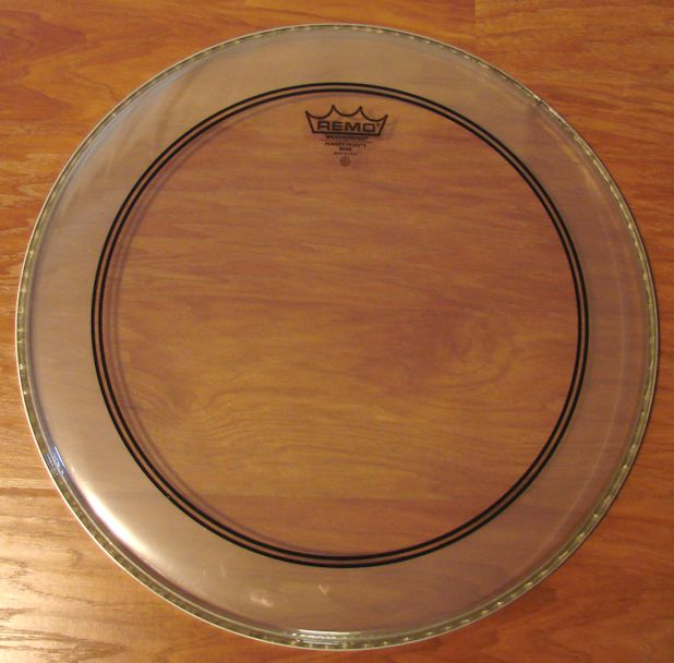 "18"" Remo Power Stroke Bass Drum Head"