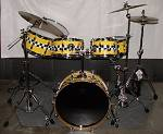 Taxi Cab Drum Set