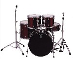 HD 20522 5-Piece Solid Gloss Drum Kit