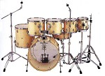 HD 20722 7-Piece Solid Gloss Drum Kit