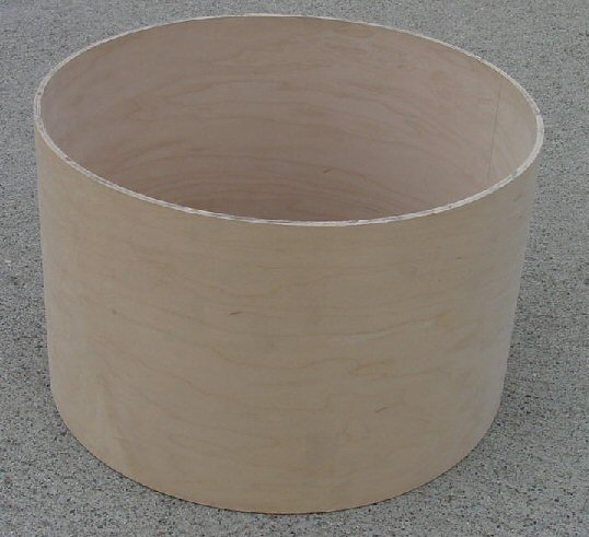 "8"" X 8"" 6 ply Tom Shell with No Bearing Edge"