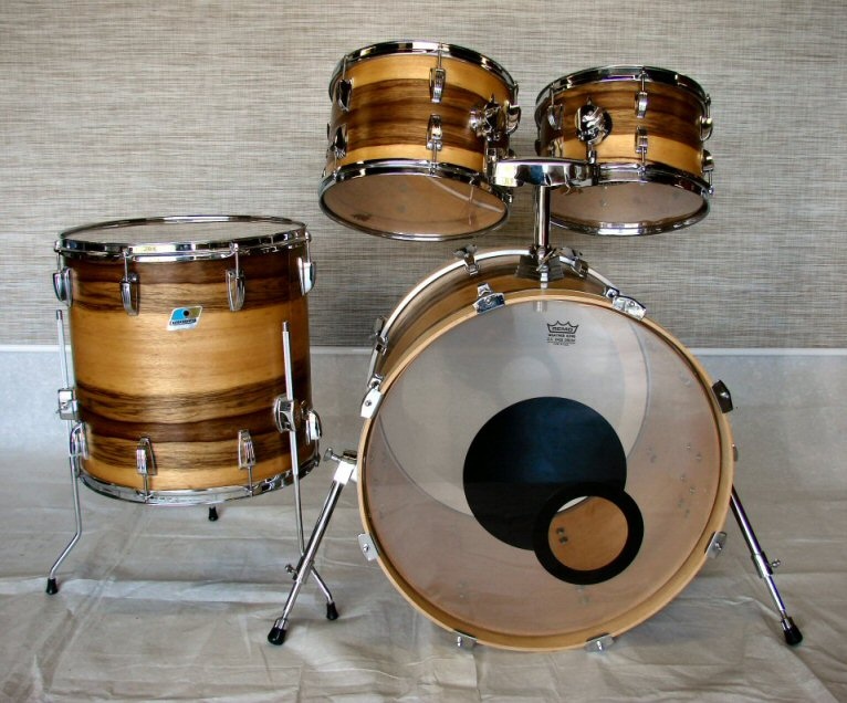 Ludwig Black Limba Wood Drum Kit
