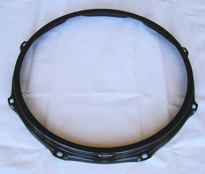 Ahead 13 inch 2.3mm 8-Lug Black Batter S-Hoop
