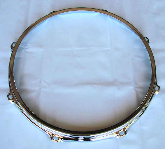 Ahead 13 inch 2.3mm 8-Lug Chrome Snare Side S-Hoop