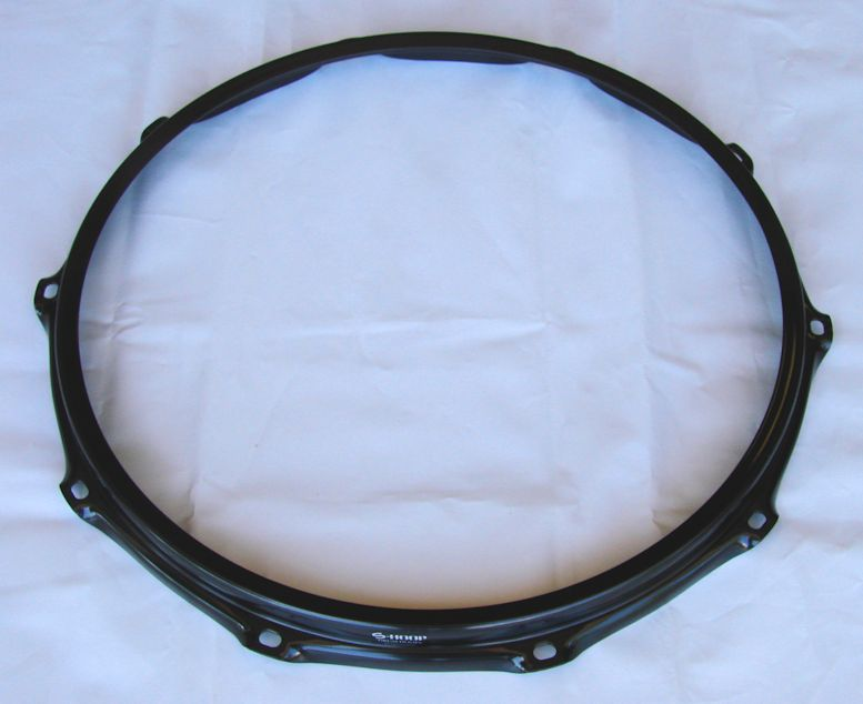 Ahead 14 inch 2.3mm 10-Lug Black Batter S-Hoop