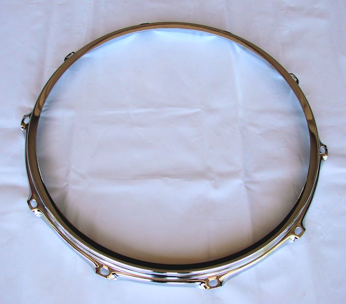 Ahead 14 inch 2.3mm 10-Lug Chrome Batter S-Hoop
