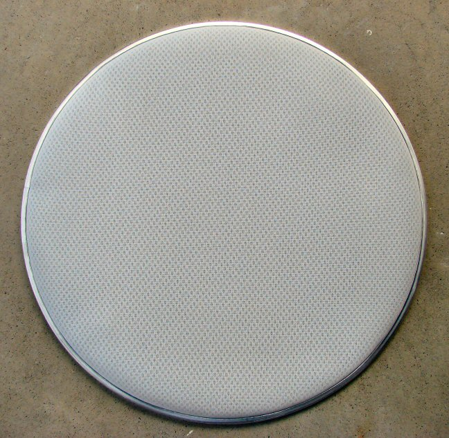 "18"" 3ply Ballistech 3.0 White Mesh Head  Bass Only"
