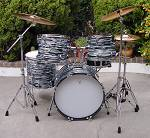 Ringo Style Custom Drum Kit