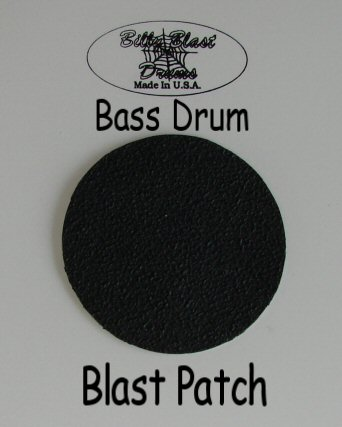Bass Drum Single Blast Patch