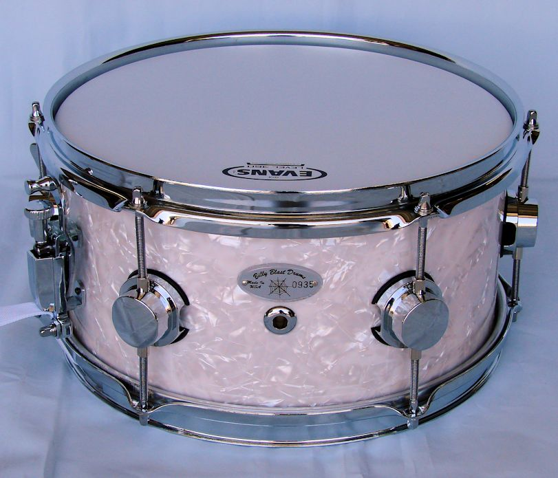 12x6 White Pearl Snare Drum