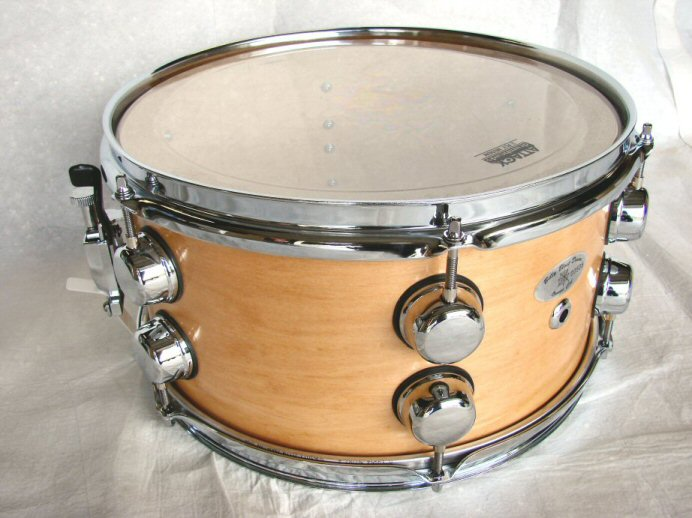 "13""X7"" 8ply Natural Maple Snare Drum"