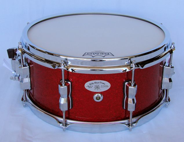 13x6 Red Sparkle Snare Drum