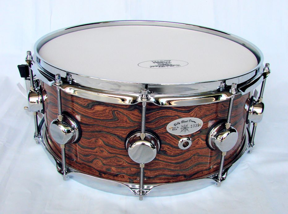 14x6 12ply Hard Rock Maple Snare Drum