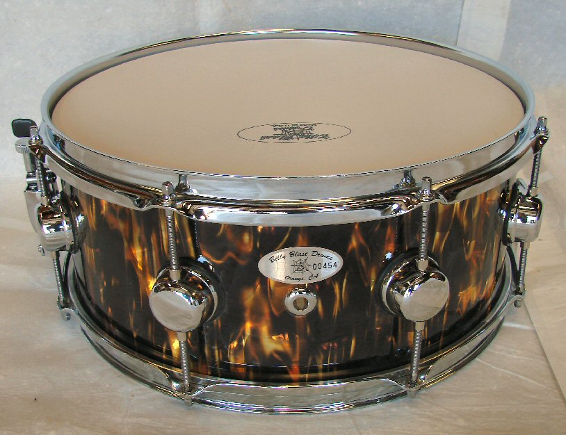"14"" X  6"" 10ply Gold Inferno Snare Drum"