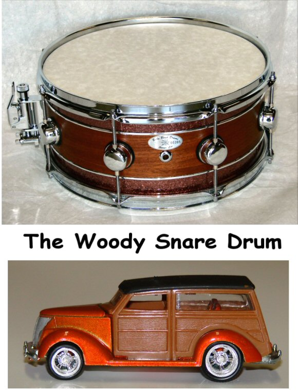 "14"" X  6"" 15ply Woody Snare Drum"