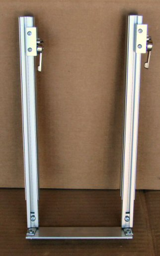 Vertical Bass Drum Pedal Rail System