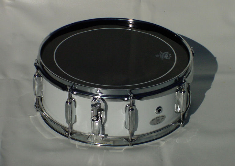White Snare Drum